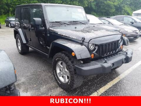 2012 Jeep Wrangler Unlimited for sale at Strosnider Chevrolet in Hopewell VA