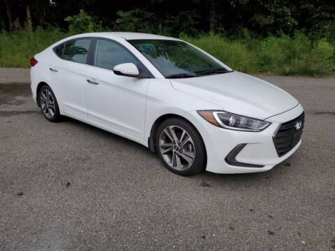 2017 Hyundai Elantra for sale at Strosnider Chevrolet in Hopewell VA