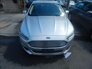 2015 Ford Fusion Hybrid for sale in Springfield Gardens, NY
