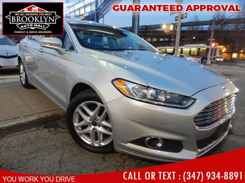 Car Dealerships In Brooklyn >> Ford Fusion For Sale In Brooklyn Ny Excellence Auto Trade