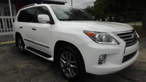 2014 Lexus LX 570 for sale at Excellence Auto Trade 1 Corp in Brooklyn NY