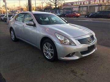 2010 Infiniti G37 Sedan for sale in Springfield Gardens, NY
