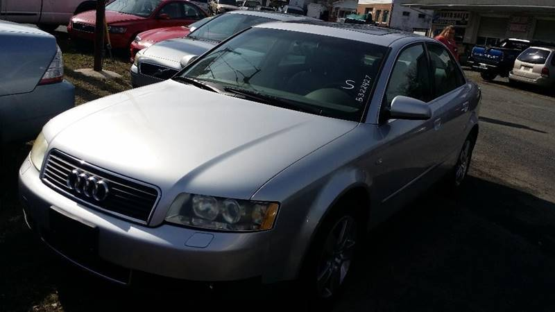 2003 Audi A4 30 Quattro In North East Md S W Auto Sales Inc
