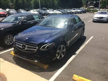 2017 Mercedes-Benz E-Class for sale in Arlington, VA