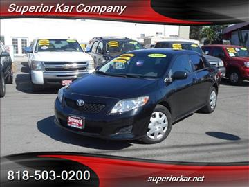 2010 Toyota Corolla for sale in North Hollywood, CA