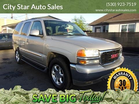 2004 GMC Yukon for sale in Marysville, CA
