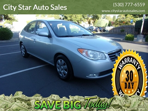 2007 Hyundai Elantra for sale in Marysville, CA