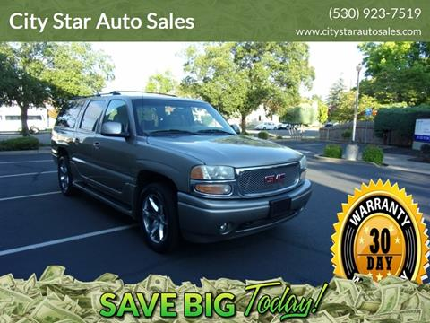2001 GMC Yukon XL for sale in Marysville, CA