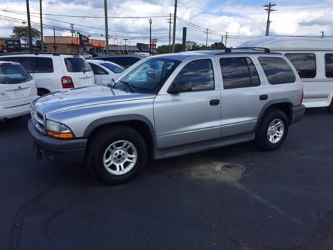 2003 Dodge Durango for sale in Milford, OH