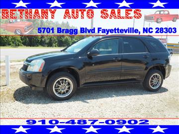 2005 Chevrolet Equinox for sale in Fayetteville, NC