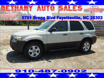 2006 Ford Escape for sale in Fayetteville, NC