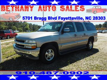 2001 Chevrolet Suburban for sale in Fayetteville, NC