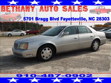 2005 Cadillac DeVille for sale in Fayetteville, NC