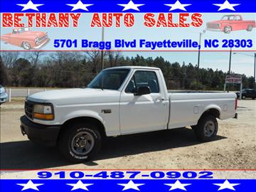 1995 Ford F-150 for sale in Fayetteville, NC