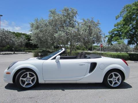 2000 Toyota MR2 Spyder for sale in Delray Beach, FL