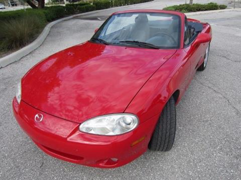 2003 Mazda MX-5 Miata for sale in Delray Beach, FL