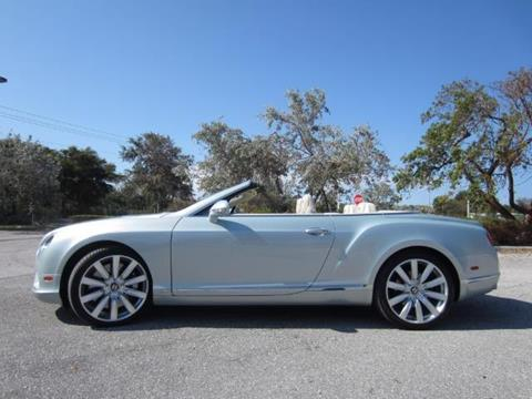2013 Bentley Continental GTC V8 for sale in Delray Beach, FL
