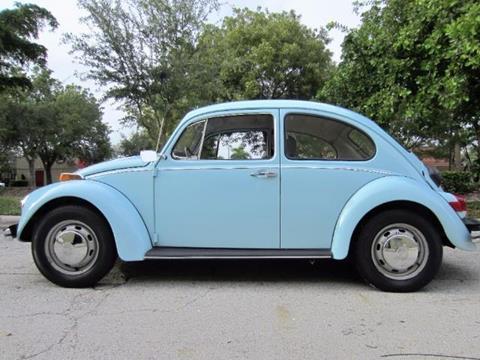 1970 Volkswagen Beetle for sale in Delray Beach, FL