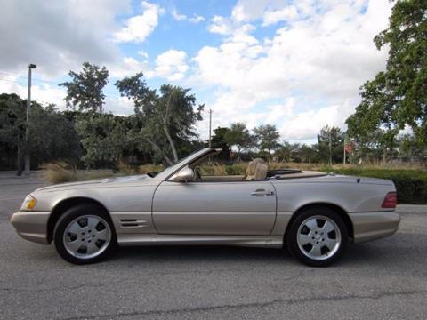 2002 Mercedes Benz SL Class For Sale In Delray Beach, FL