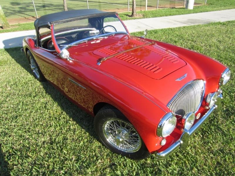 1955 Austin-Healey 100/4 3