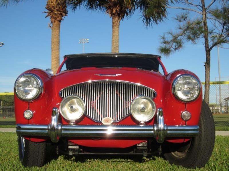 1955 Austin-Healey 100/4 16