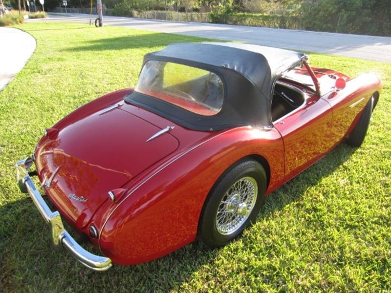 1955 Austin-Healey 100/4 4