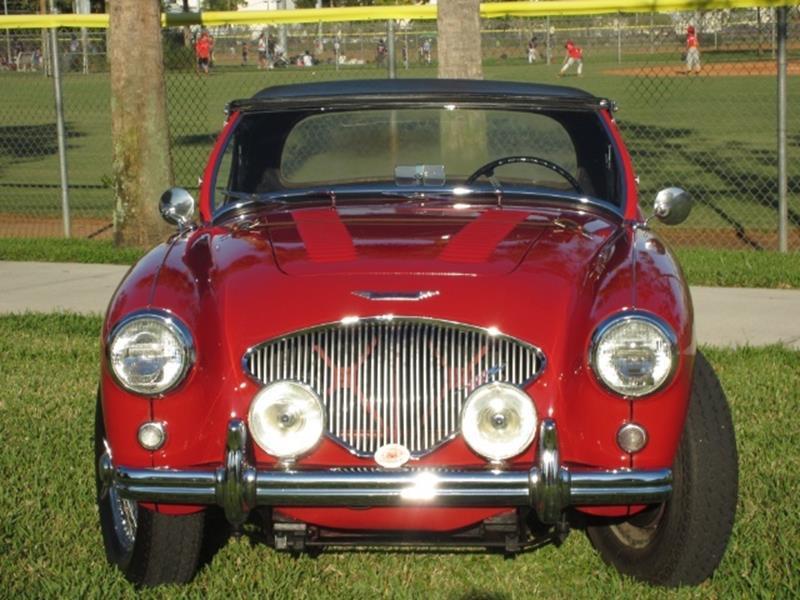 1955 Austin-Healey 100/4 14