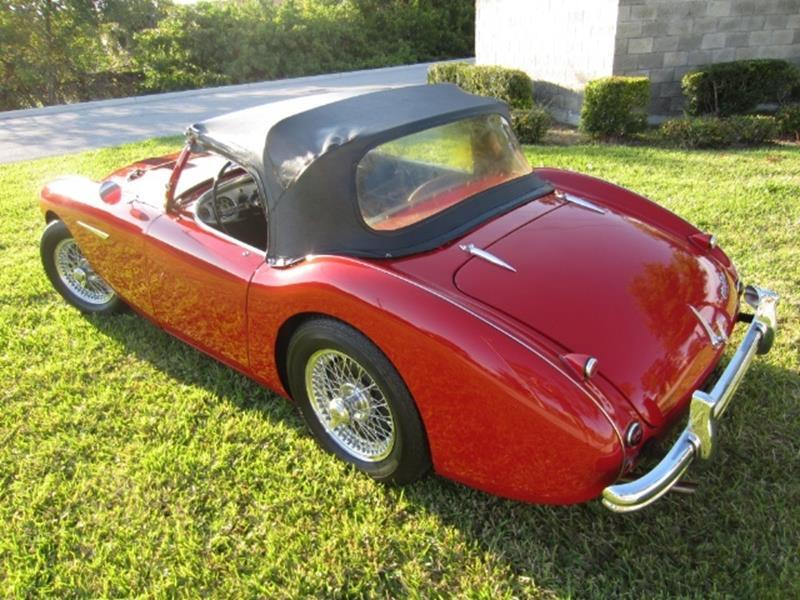 1955 Austin-Healey 100/4 10