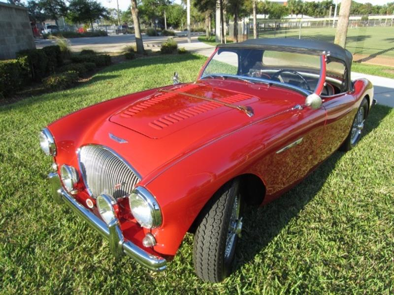 1955 Austin-Healey 100/4 2
