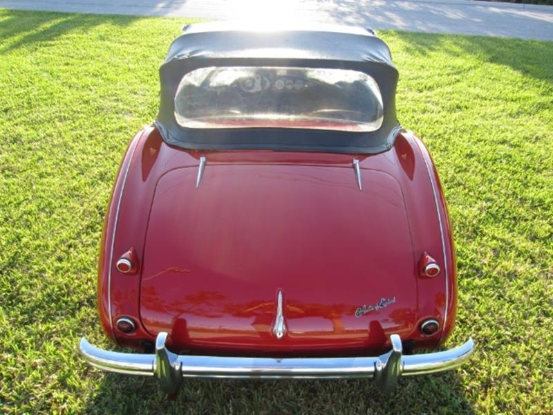 1955 Austin-Healey 100/4 11