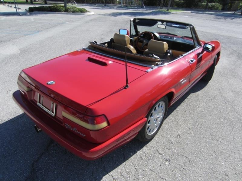 1991 Alfa Romeo Spider 3