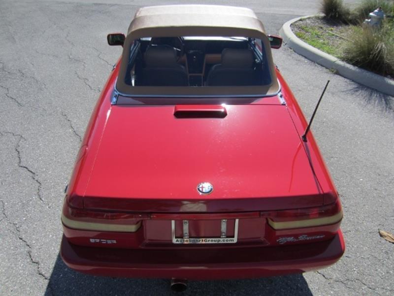 1991 Alfa Romeo Spider 11