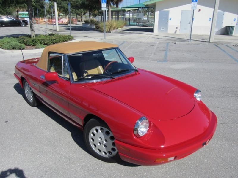 1991 Alfa Romeo Spider 19