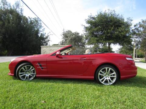 2013 Mercedes-Benz SL-Class SL 550 for sale at Auto Sport Group in Delray Beach FL