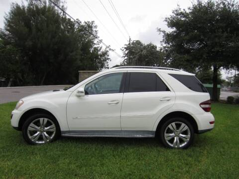 2011 Mercedes-Benz M-Class ML 350 4MATIC for sale at Auto Sport Group in Delray Beach FL