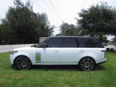 2016 Land Rover Range Rover Autobiography LWB for sale at Auto Sport Group in Delray Beach FL