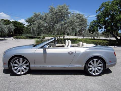 2012 Bentley Continental GTC for sale in Delray Beach, FL