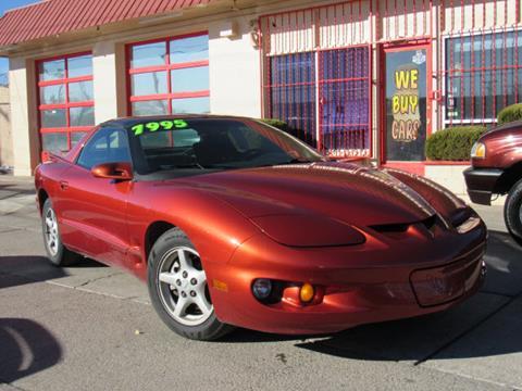 2002 Pontiac Firebird for sale in Albuquerque, NM