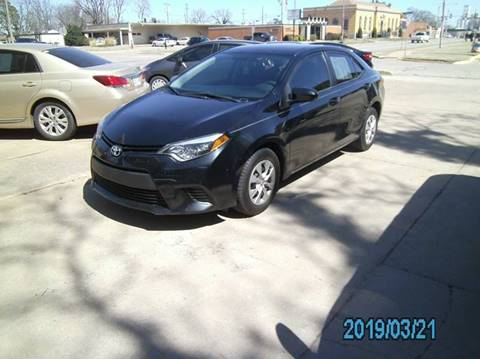 2015 Toyota Corolla for sale in Stillwater, OK