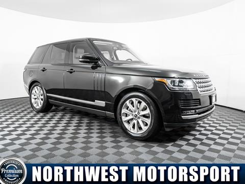 2013 Land Rover Range Rover for sale in Lynnwood, WA
