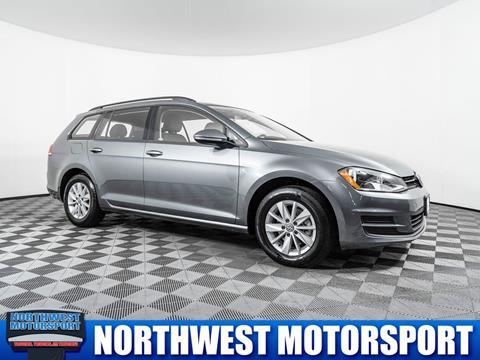2016 Volkswagen Golf SportWagen for sale in Lynnwood, WA