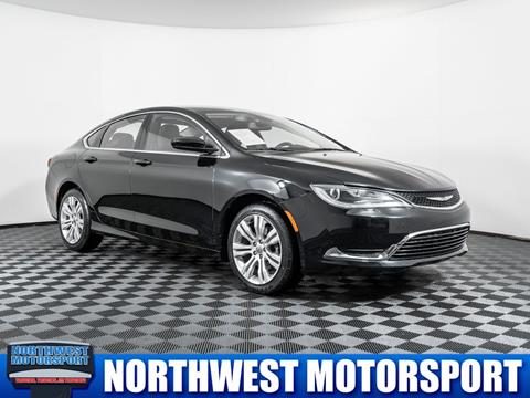 2016 Chrysler 200 for sale in Lynnwood, WA