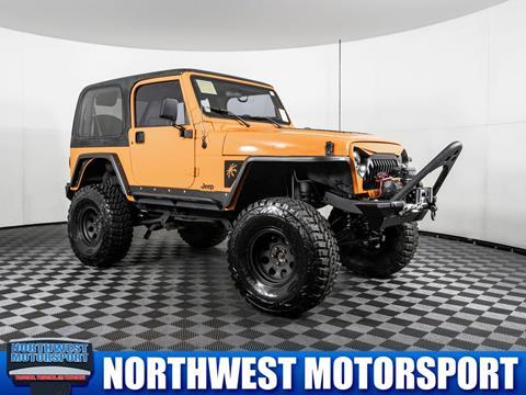 1998 Jeep Wrangler for sale in Lynnwood, WA