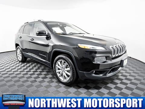 2016 Jeep Cherokee for sale in Lynnwood, WA