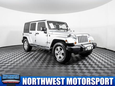 2011 Jeep Wrangler Unlimited for sale in Lynnwood, WA