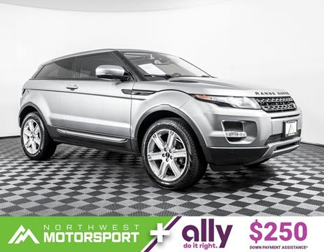 2013 Land Rover Range Rover Evoque Coupe for sale in Lynnwood, WA