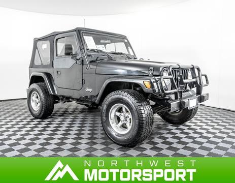 2001 Jeep Wrangler for sale in Lynnwood, WA