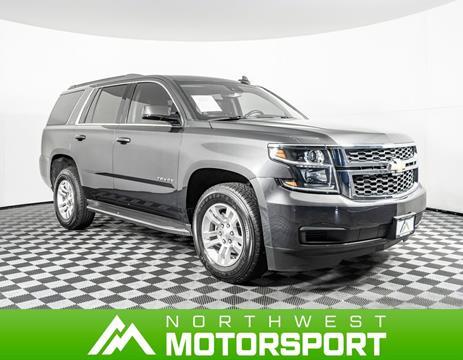 2018 Chevrolet Tahoe for sale in Lynnwood, WA