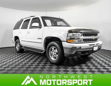 2002 Chevrolet Tahoe for sale in Lynnwood, WA