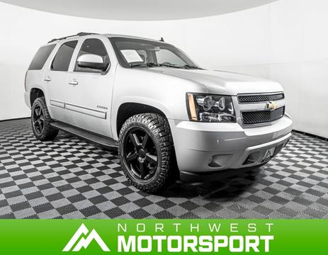 Used Chevy Tahoe >> 2011 Chevrolet Tahoe For Sale In Lynnwood Wa